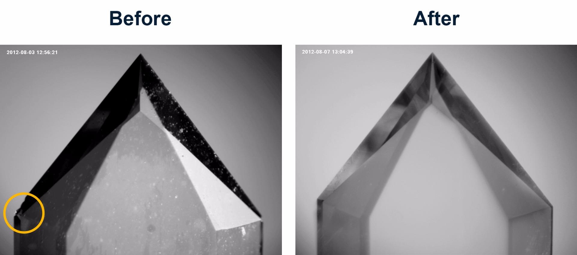 Diamond Knife Repair